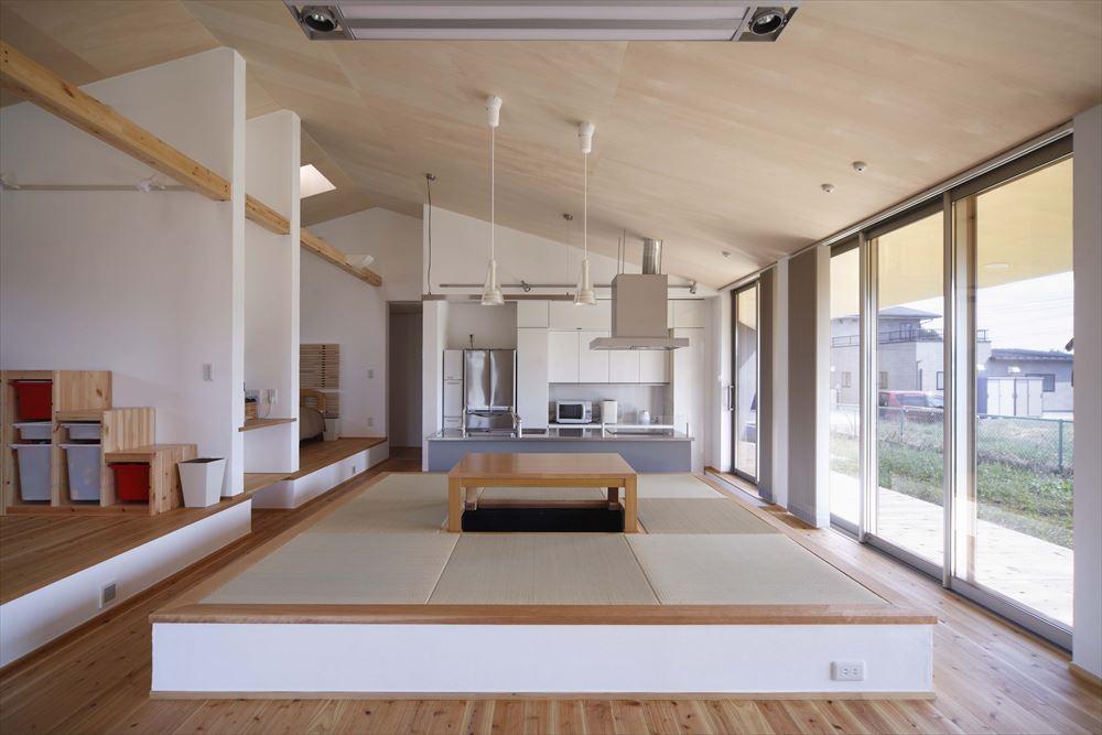 リビング 畳スペース 1段高い